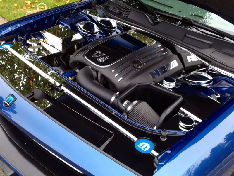 Acc - 5 7 Engine Shroud Trim Kit Polished 5 7l