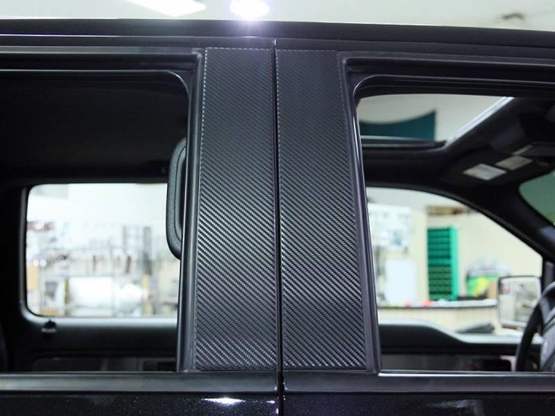 Acc Ford F150 Raptor Pillar Post Carbon Fiber Wrap 4pc
