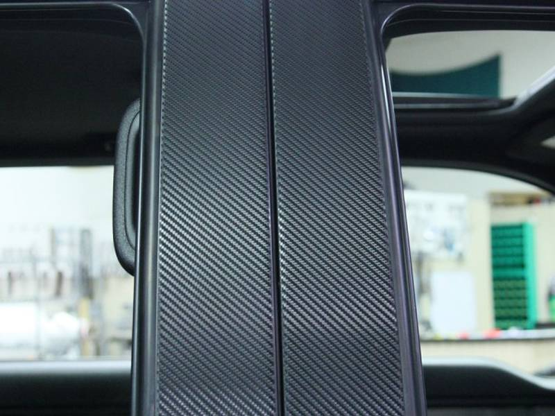 ACC - Ford F150/Raptor Pillar Post Carbon Fiber Wrap 4Pc 2010-2013