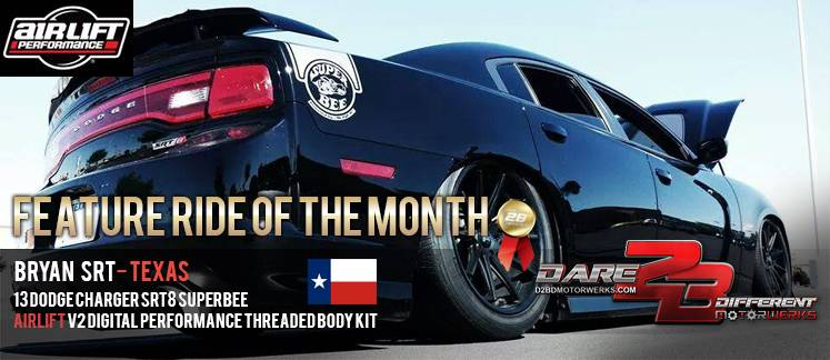 Airlift Dodge Charger 05 18 Performance Air Ride System