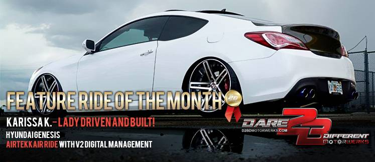 JULY RIDE OF THE MONTH AIRTEKK HYUNDAI GENESIS