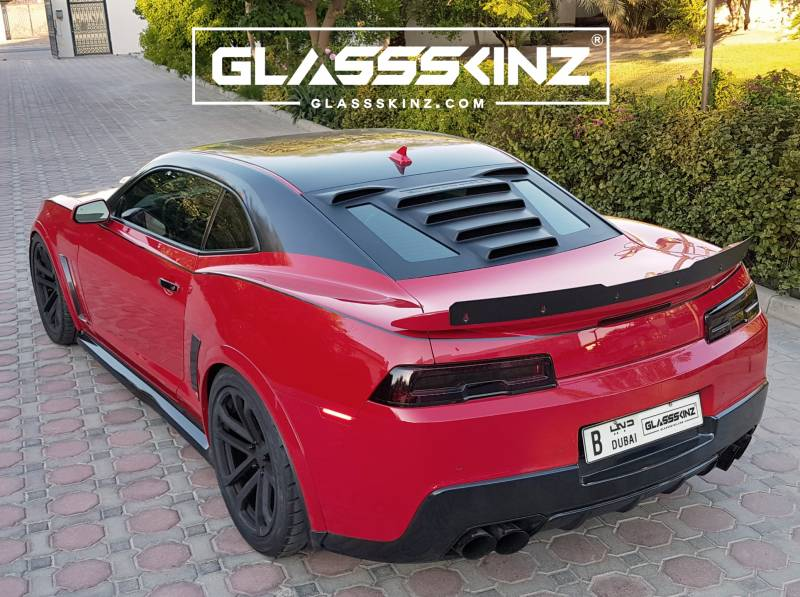 GLASSSKINZ TEKNO 1 Camaro 6th Gen 16 18