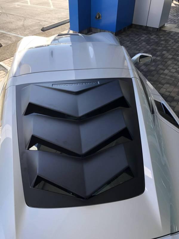 Glassskinz C7 Corvette Louver Bakkdraft