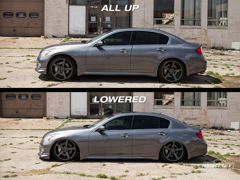 Airlift Infiniti G37 Coupesedan 08 14 Performance Air Ride System