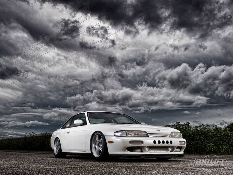 Airlift S14 200sx/ 240sx/ Silvia Performance Air Ride System