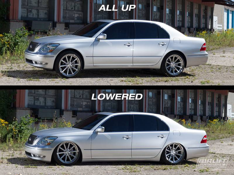 Airlift Lexus Ls430 01 06 Performance Air Ride System Ap