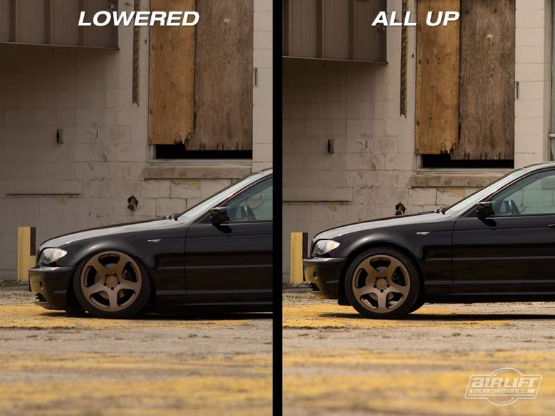 Airlift BMW E46 3 Series and M3 99-06 Performance Air Ride