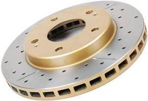 DBA - DBA Front Drilled & Slotted 4000 Series Rotor  02-10 WRX /13+ FRS/BRZ/FT-86: DBA4650XS