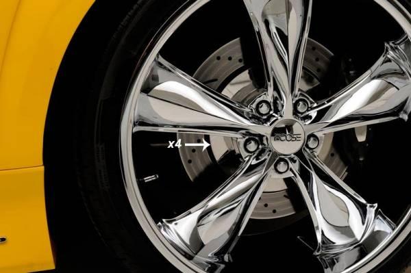 AMERICAN CAR CRAFT  - ACC Camaro Wheel Rotors 4pc Smooth Polished 2010-2013 - 102033