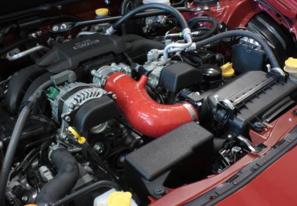 Perrin Red Inlet Hose : PSP-INT-430RD WWW.D2BDMOTORWERKS.COM