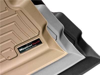 WEATHERTECH Rear Rubber Mats/Acura CL/1997 - 1999/Grey: W20GR WWW.D2BDMOTORWERKS.COM