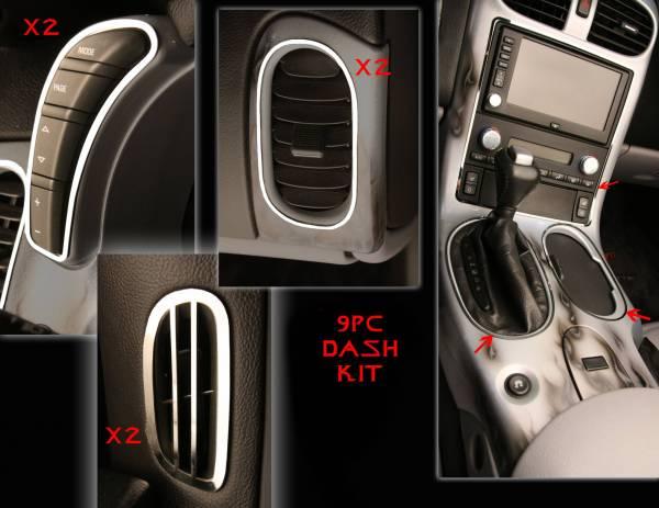 American Car Craft - ACC DBoard Air Vent Trim - 41041