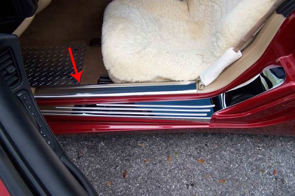 American Car Craft - ACC Door Sill Plate - 031014