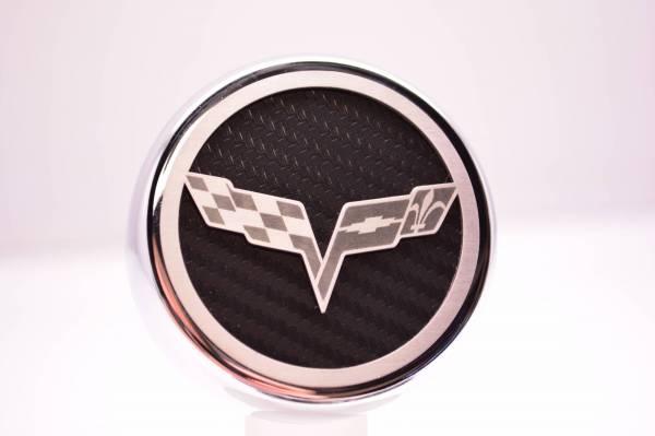 American Car Craft - ACC Fluid Cap Cover Set - 043082-BLK