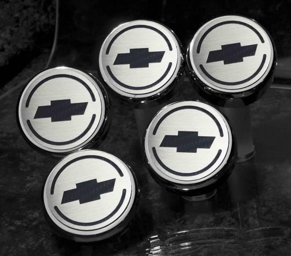 American Car Craft - ACC Fluid Cap Cover Set - 043096-BLU
