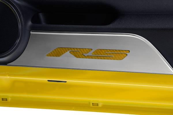American Car Craft - ACC Door Panel Insert - 101018-DBLU