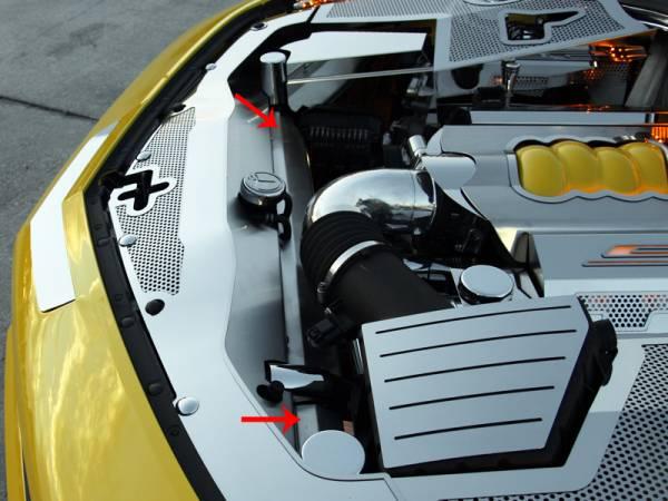 American Car Craft - ACC Radiator Cap - 103031-CFH