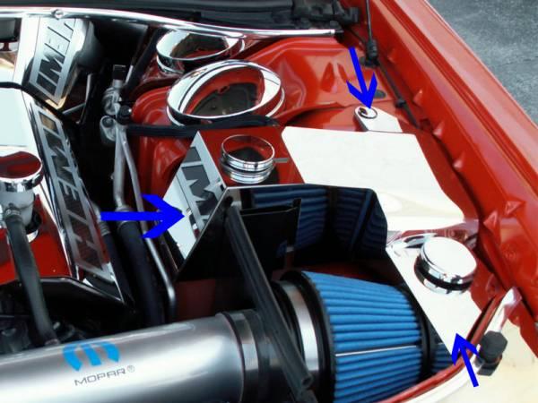 American Car Craft - ACC Engine Dress Up Kit - 303020