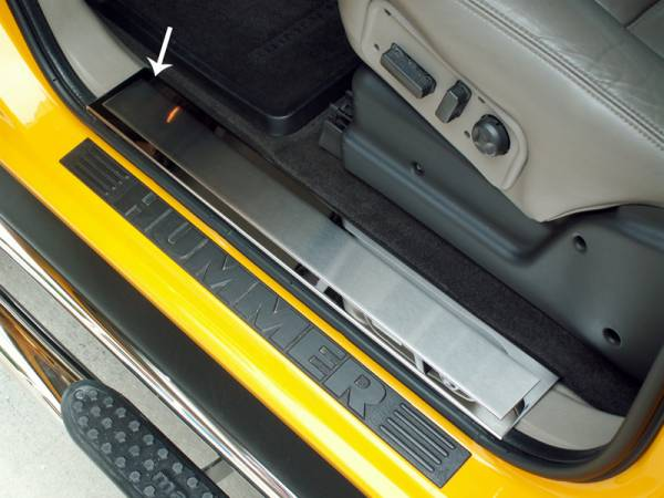 American Car Craft - ACC Door Sill Plate - 491004