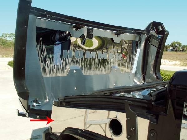 American Car Craft - ACC Fender Covering - 493008