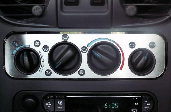 American Car Craft - ACC DBoard Air Vent Trim - 711001