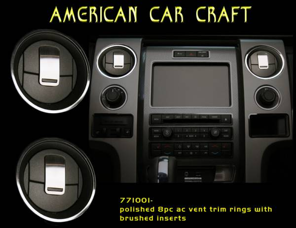 American Car Craft - ACC DBoard Air Vent Trim - 771001