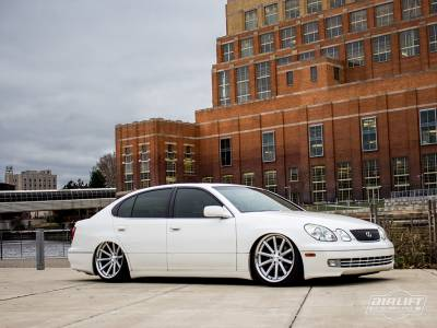 LEXUS  - GS 300 1998-2005 - AIRLIFT PERFORMANCE  - Airlift Lexus GS 300/400/430  98-05 RWD/AWD Performance Threaded Body Air Ride Suspension : 78513 / 78613 AP Manual/3S/3P/3H