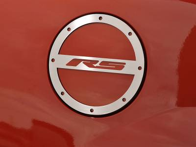 """American Car Craft - ACC Camaro Gas Cap Cover Polished """"RS"""" 2010-2013 - 102012 - Image 1"""