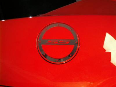 "American Car Craft - ACC Camaro Gas Cap Cover Polished ""SS"" 2010-2013 - 102013 - Image 2"