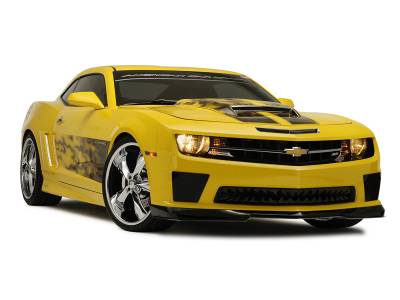 "American Car Craft - ACC Camaro Graphic ""AirBrushed"" Gradient Flame Side Sport Fade 2010-2013 - 102025 - Image 3"