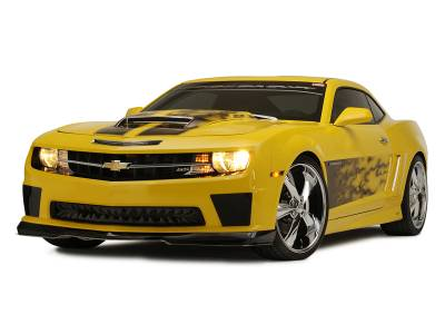 "American Car Craft - ACC Camaro Graphic ""AirBrushed"" Gradient Flame Side Sport Fade 2010-2013 - 102025 - Image 4"