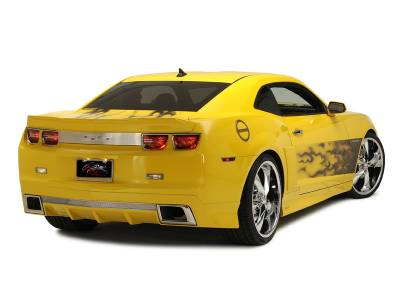 """American Car Craft - ACC Camaro Graphic """"AirBrushed"""" Gradient Flame Side Sport Fade 2010-2013 - 102025 - Image 5"""
