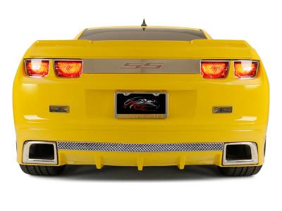 American Car Craft - ACC Camaro Rear Valance Laser Mesh Fits the GM RS Ground Effects 2010-2013 - 102037 - Image 2