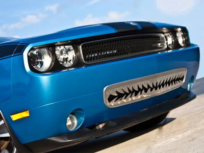 """American Car Craft - ACC Dodge Challenger 5.7 and SRT 8 Grille Polished """"Shark Tooth"""" Lower Front 2011-2013 only - 152011 - Image 2"""