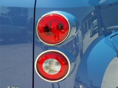 Modern Muscle Car Steel - Chevrolet HHR - American Car Craft - ACC HHR Taillight Trim Polished w/Brushed Rings 2006-2012 - 422016