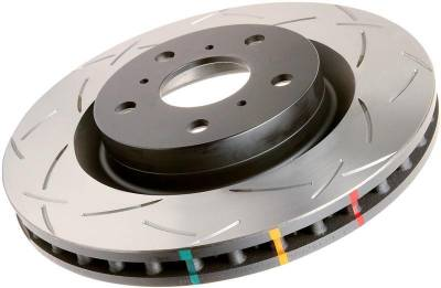 Brakes - Brake Rotors  - DBA - DBA Front Slotted 4000 Series Rotor  02-10 WRX / 13+ FRS/BRZ/FT-86: DBA4650S