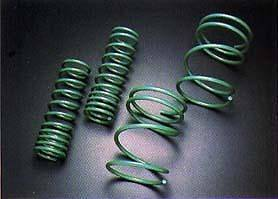 Suspension - Lowering Springs  - TEIN  - Tein 07-12 Yaris / 08+ Scion xD STech Springs :SKC10-AUB00