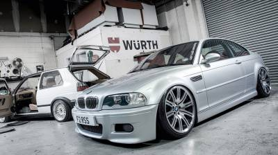 Airlift BMW  E46 3 Series and M3  99-06 Performance Air Ride System : 75546 / 75646 AP Manual/3S/3P/3H