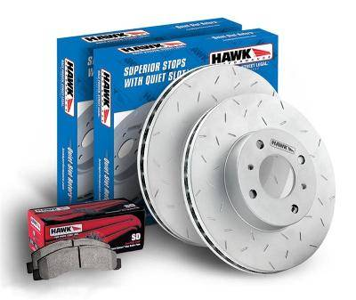Brakes - Hawk Performance Brake System 13+ Scion FRS/ 13+ Subaru BRZ/ 13+ Toyota FT86: HKF732711