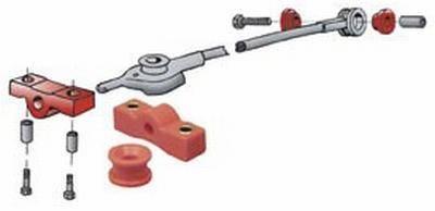 Suspension - Bushings  - Prothane SCION/SUBARU/FR-S/BRZ RR SHIFT KIT 14+ Scion FRS/ 14+ Subaru BRZ/ 14+ Toyota FT86: 16-1604-BL