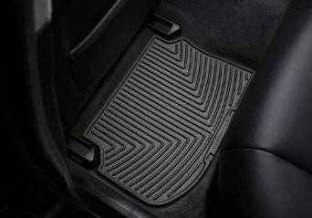 Interior - FLOOR MATS - WEATHERTECH Rear Rubber Mats/Acura CL/1997 - 2003/Black :W20