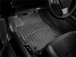 Interior - FLOOR MATS - WEATHERTECH Front and Rear Floorliners/Scion tC/2011 - 2014/Black: 44345-1-2