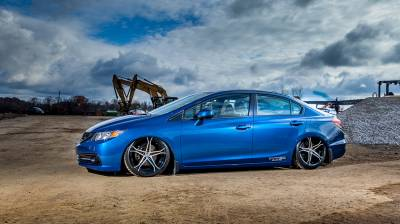 AIRLIFT PERFORMANCE  - Airlift  9th Gen Honda Civic 12-15, SI 12-13, Acura ILX 13-16 Performance Air Suspension :78526 / 78626 AP Manual/3S/3P/3H - Image 10