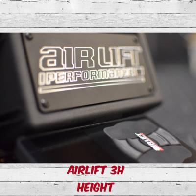 Air Ride Suspension - AIR LIFT PERFORMANCE AIR MANAGEMENT SYSTEMS - AIRLIFT PERFORMANCE  - Airlift 27695 3H Height and Pressure Controller 3/8TH NO TANK, NO COMPRESSOR : 27695
