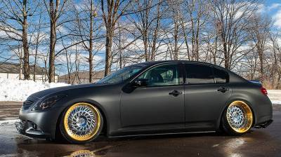 Air Ride Suspension - AIR LIFT PERFORMANCE BOLT ON KITS - AIRLIFT PERFORMANCE  - Airlift Infiniti G35X Coupe/Sedan 07-08 AWD Performance Air Ride System 78553 /75620 AP Manual/3S/V2/3P/3H