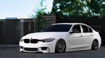BMW - 3 Series F30  Non M3 12-16 - AIRLIFT PERFORMANCE  - Airlift BMW F30 3 Series (Non M3) 12-17 Performance Air Suspension : 78555 / 78655 AP Manual /V2/3P/3H