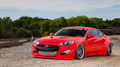 KDM - Hyundai  - AIRLIFT PERFORMANCE  - Airlift 09-16 Hyundai Genesis Coupe (All Models!) Performance Air Ride System 78531 / 78631 AP Manual/3S/3P/3H