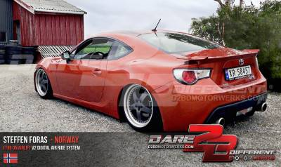 SUBARU - BRZ 2012-2017 - AIRLIFT PERFORMANCE  - AIRLIFT BRZ 13-18 AIR RIDE SUSPENSION  :75557 / 78641 AP Manual/3S/3P/3H