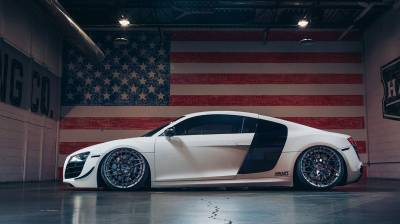 EUROPEAN - AUDI  - AIRLIFT PERFORMANCE  - Airlift Audi R8 08-15, R8 Spyder 2011, R8 GT 2012, R8 Plus 2015 Performance Air Ride Suspension: 78558 /78658
