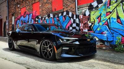 Air Ride Suspension - AIR LIFT PERFORMANCE BOLT ON KITS - AIRLIFT PERFORMANCE  - Airlift  Camaro 16-18  Performance Air Ride System :78564 / 78665 AP Manual/3S/3P/3H